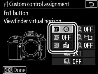 f1: Custom Control Assignment