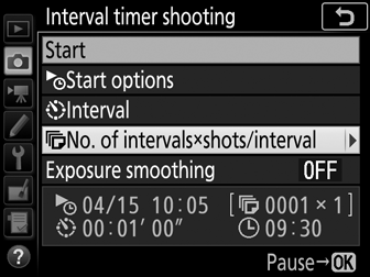 Interval Timer Shooting